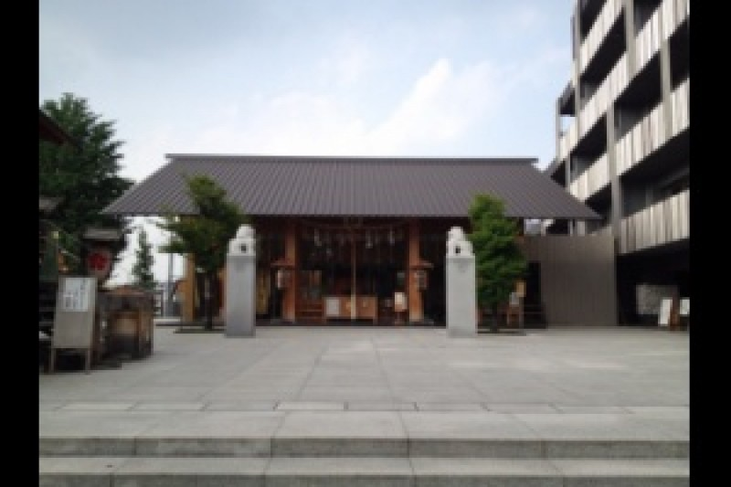 Head to Akagi Shrine, Next to Kameido.