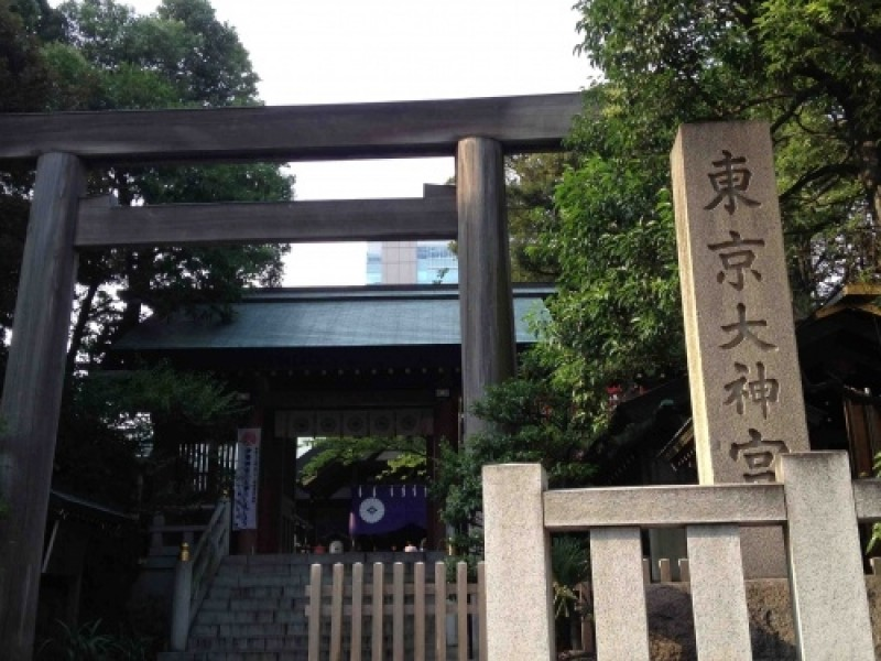 Dating Course in Kagurazaka: Visiting One of the Most Powerful 'Love' Shrine,Tokyo Daijingu Shrine.