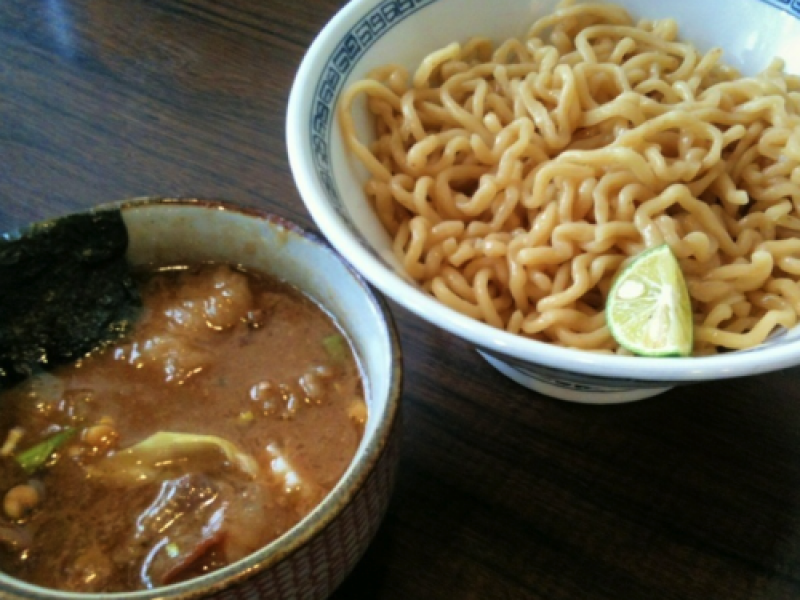 'Tsukemen' (Dipping Noodles), and Classical Music. The Ultimate Ramen Lunch Course in Shibuya.