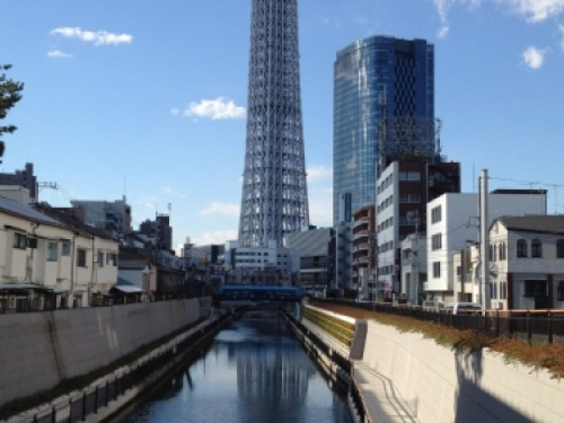 A Date to Bring Successful Love! Visit Lucky Spots from Nihonbashi to Tokyo Skytree.