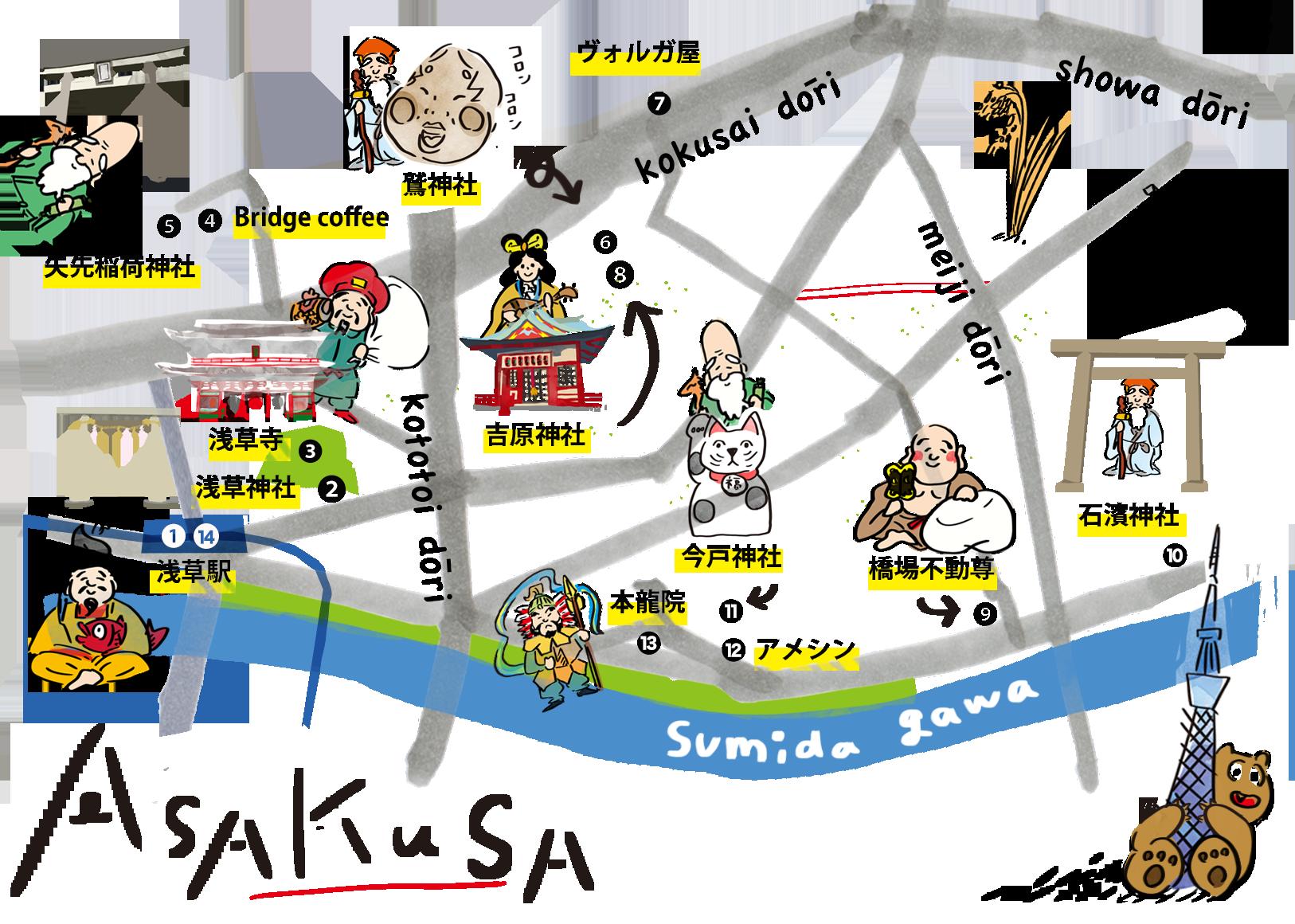 PC浅草MAP