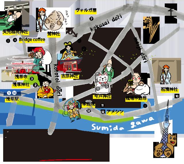 SP浅草MAP