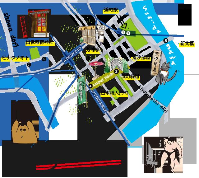 SP人形町MAP