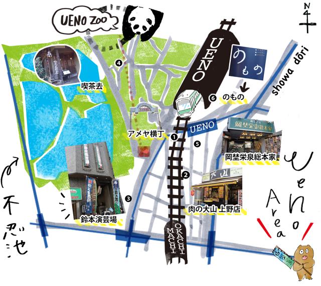 SP上野MAP