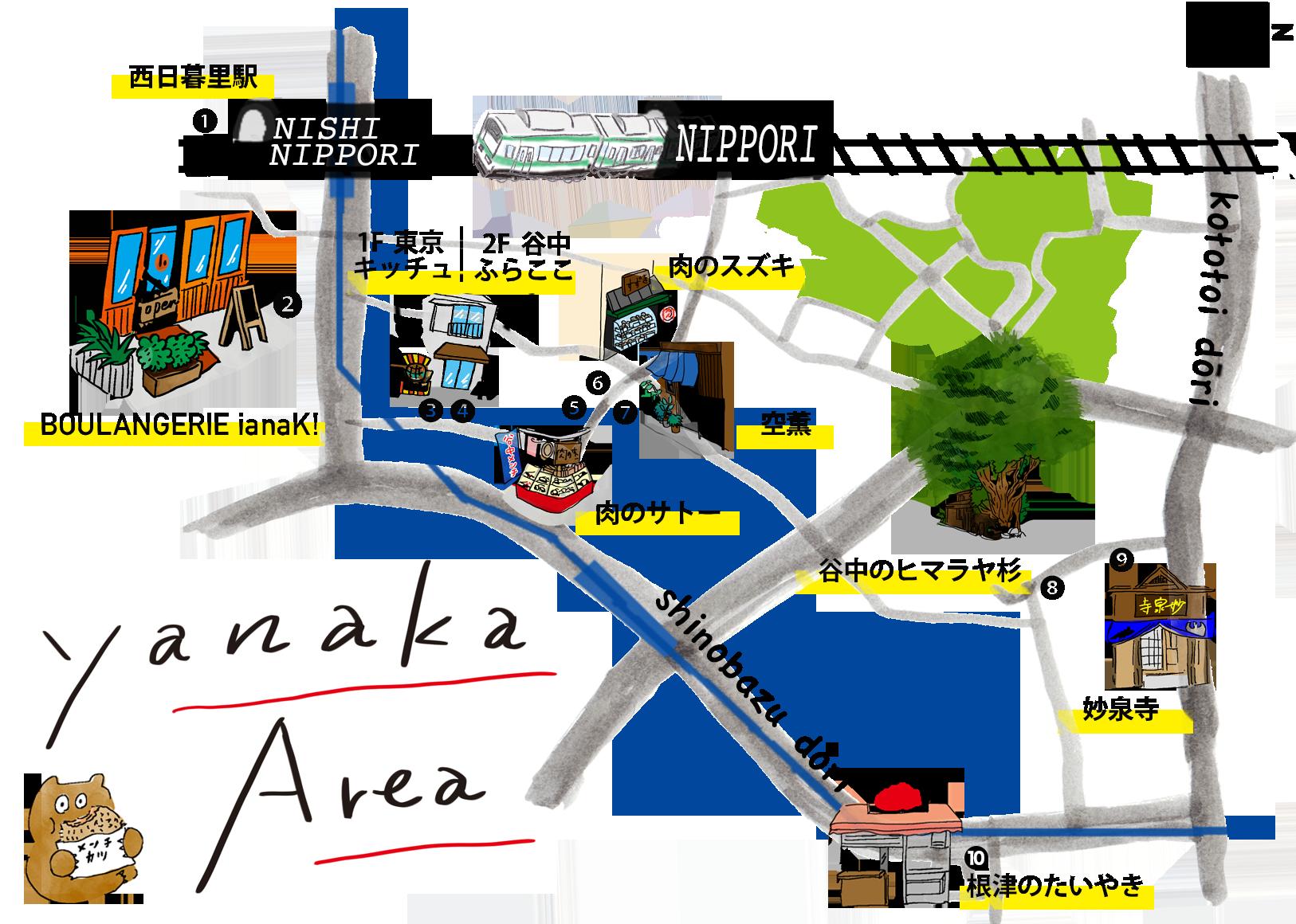 PC谷中MAP