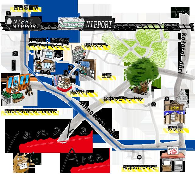 SP谷中MAP